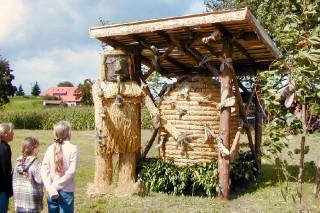 2001 Strohskulpturen Höchenschwand_1