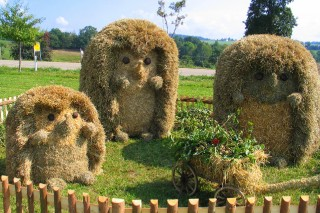 2003 Strohskulpturen Höchenschwand_10