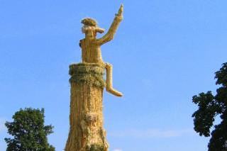2003 Strohskulpturen Höchenschwand_15