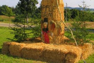 2003 Strohskulpturen Höchenschwand_5