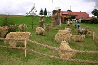 2005 Strohskulpturen Höchenschwand_17