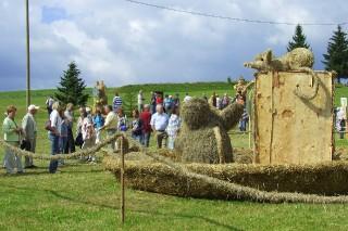 2009 Strohskulpturen Höchenschwand_10